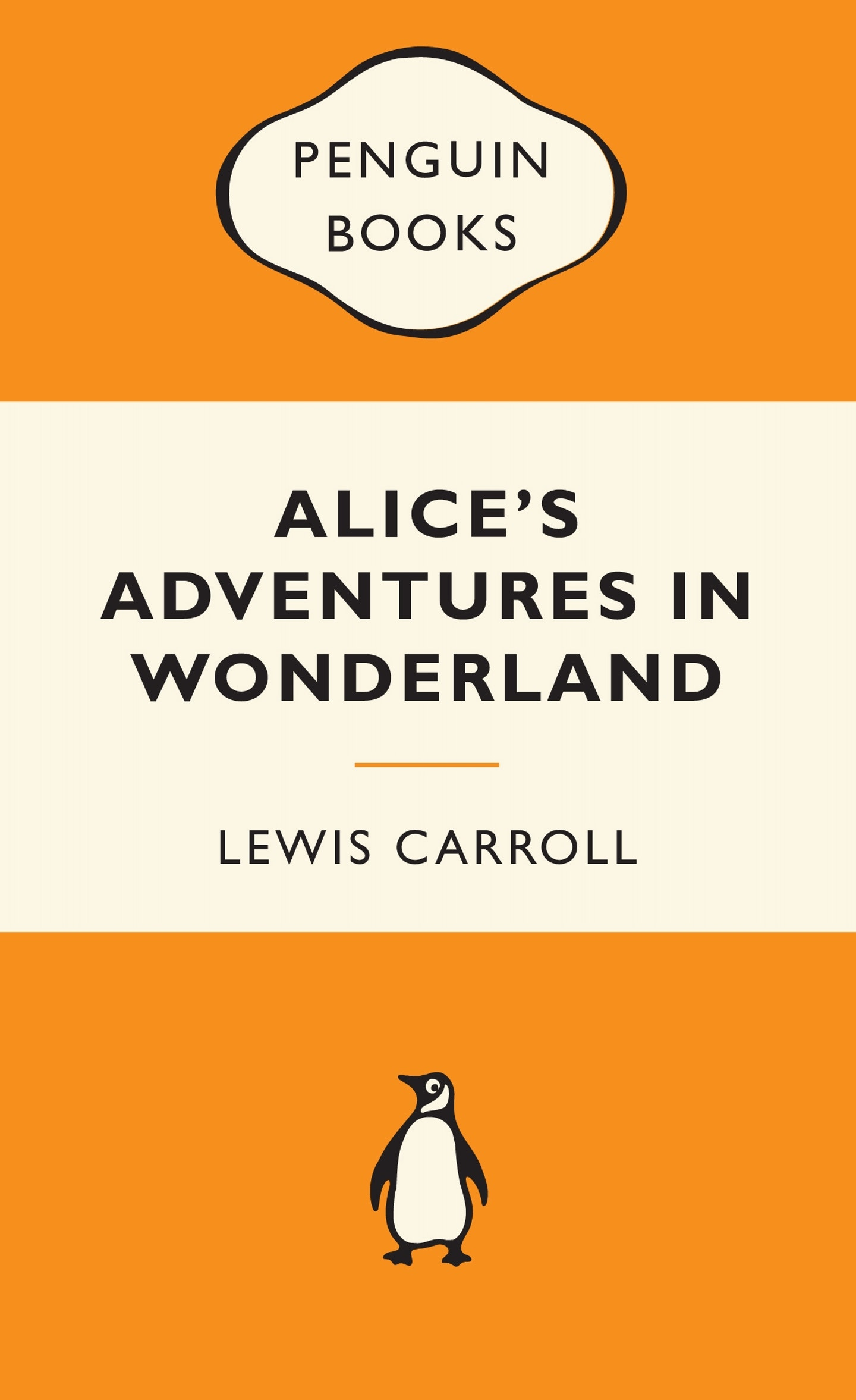 Penguin Book Cover Personalised : Alice s adventures in wonderland popular penguins