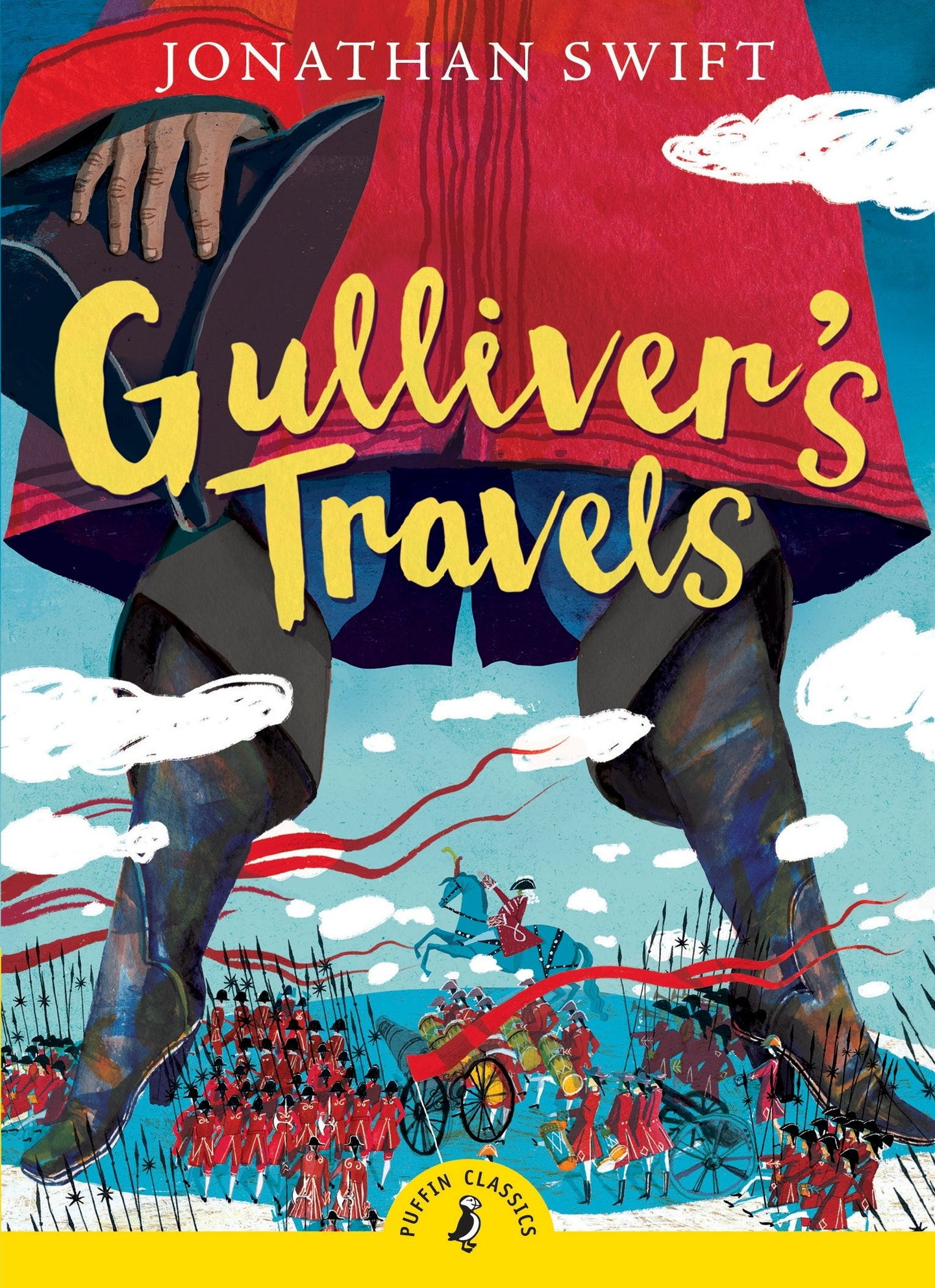 Gulliver S Travels Book Cover Drawing : Gulliver s travels penguin books australia