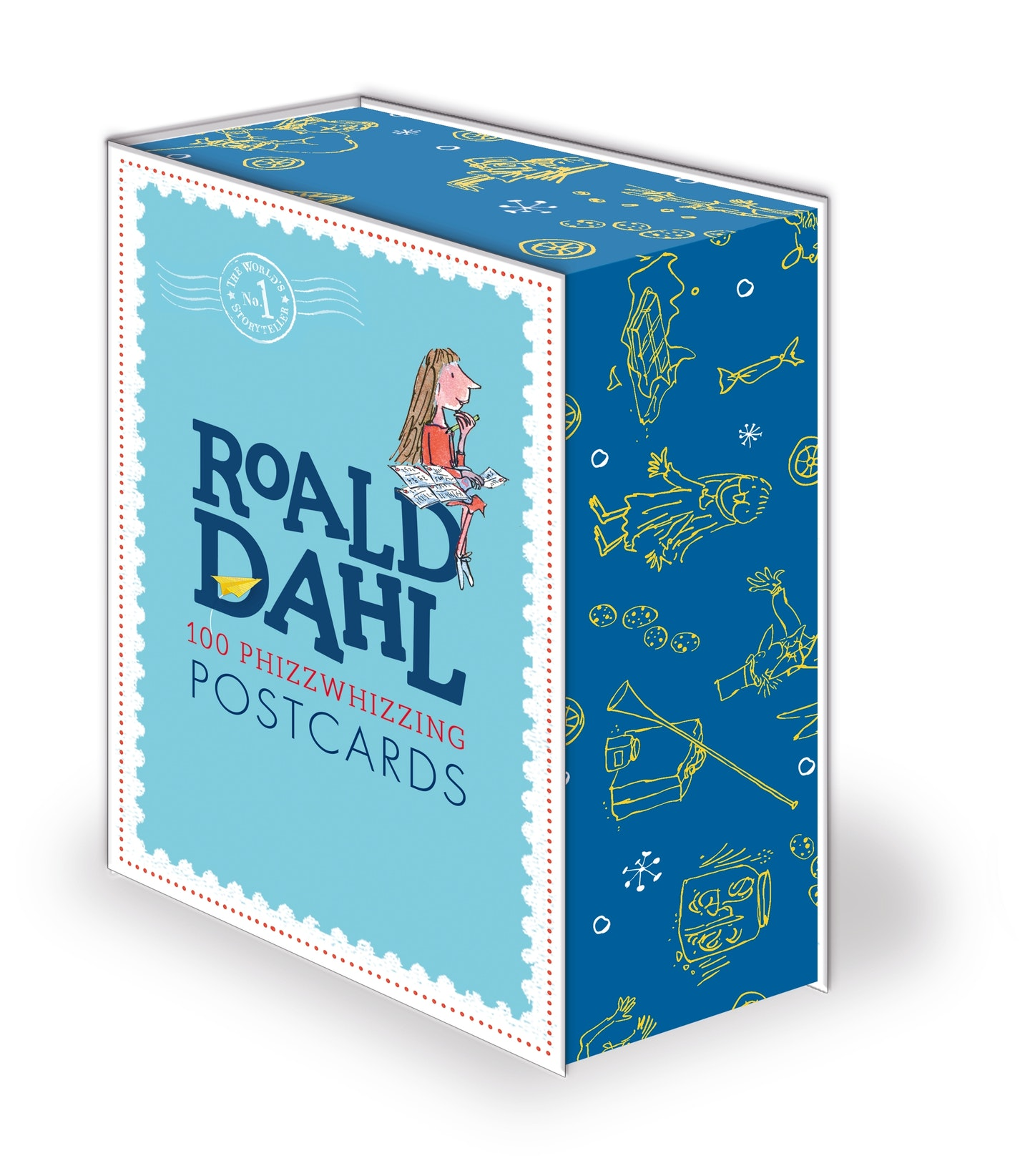 Classic Book Cover Postcards ~ Roald dahl postcard box penguin books australia