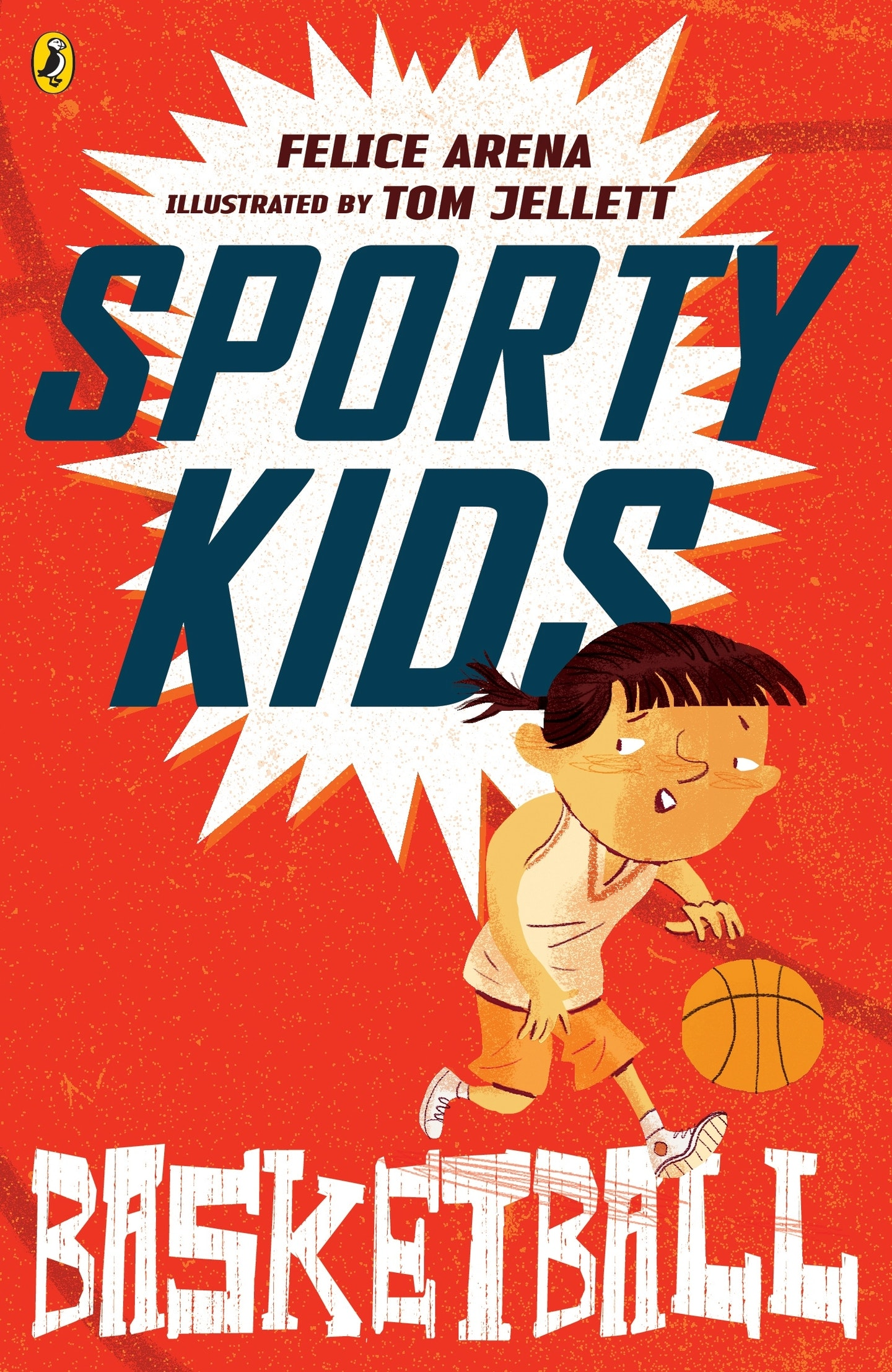 Book Cover With Pictures : Sporty kids basketball penguin books australia