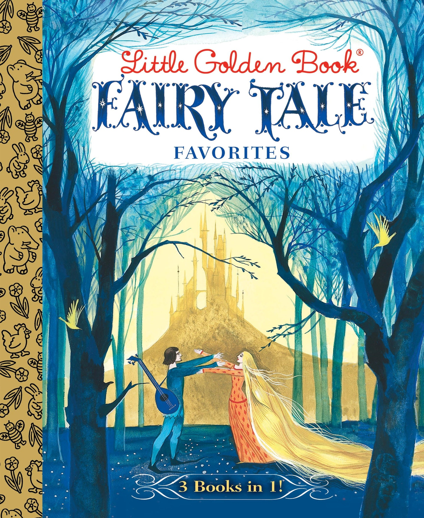 Minimalist Fairy Tale Book Covers : Little golden book fairy tale favorites in penguin