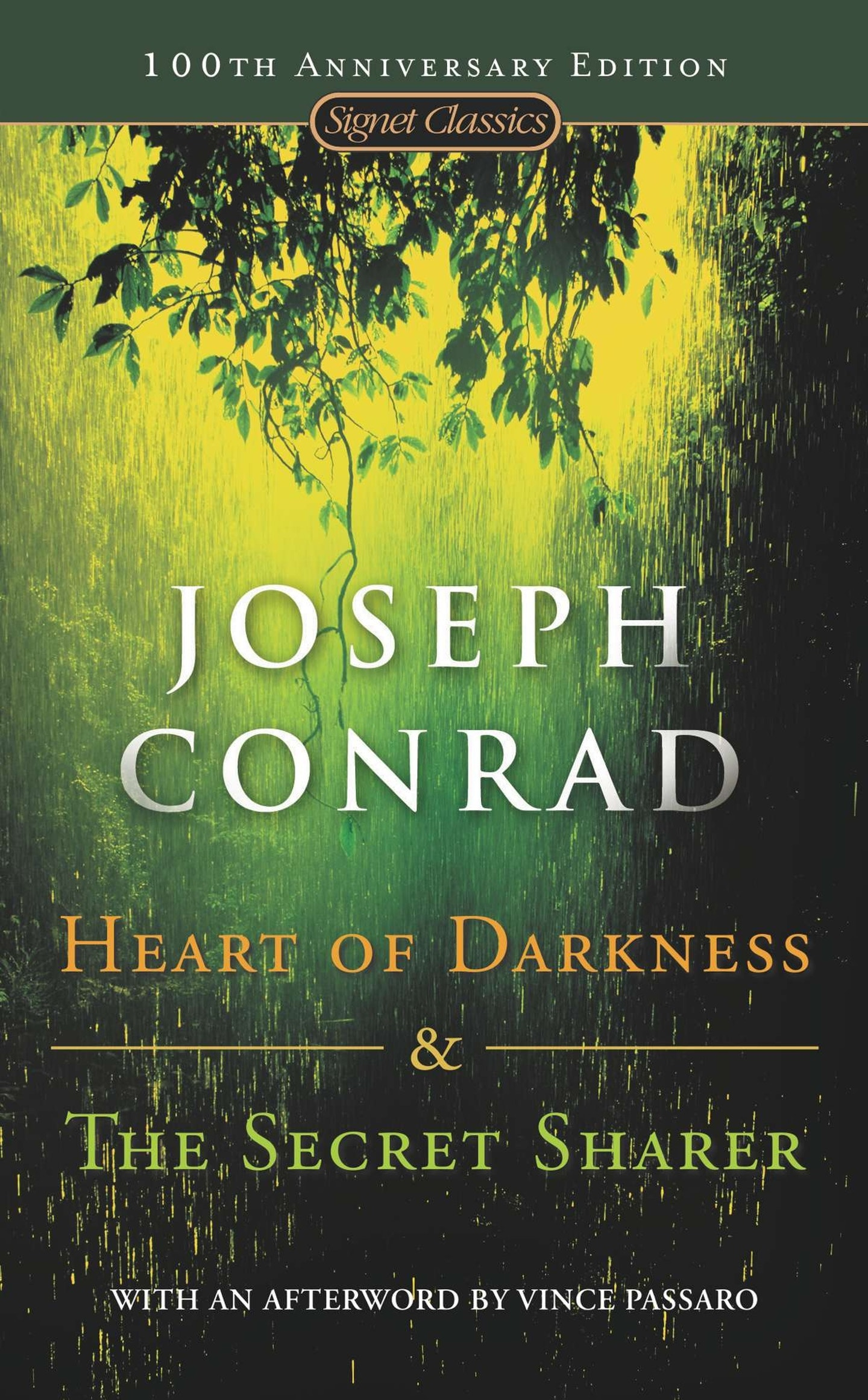 an inner confidence in the secret sharer by joseph conrad The secret sharer research papers will analyze joseph conrad's sea novel.