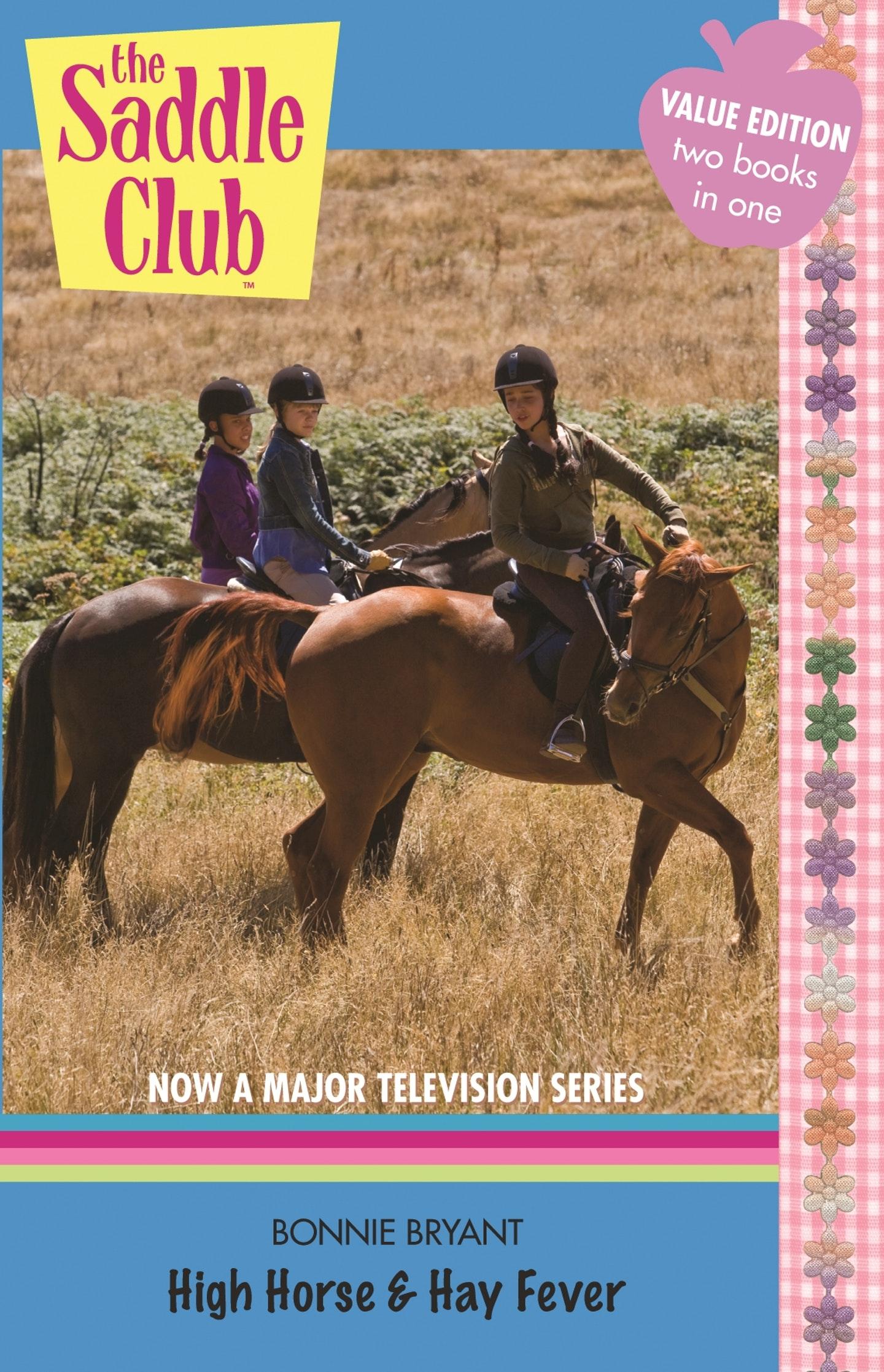 Saddle Club Bindup 5: Hoof Beat/Riding Camp by Bonnie Bryant Paperback Book