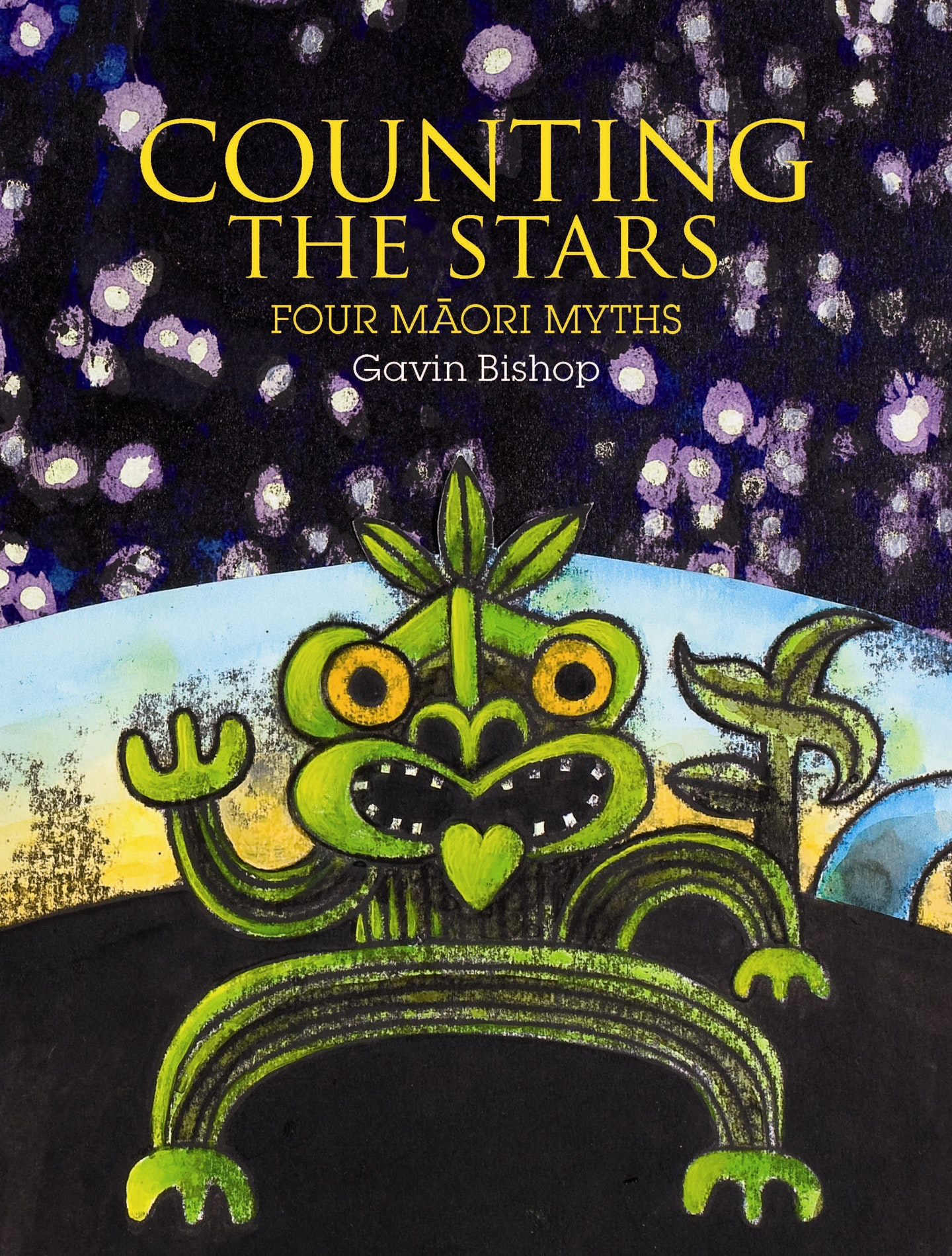 Book Covering Nz : Counting the stars penguin books new zealand