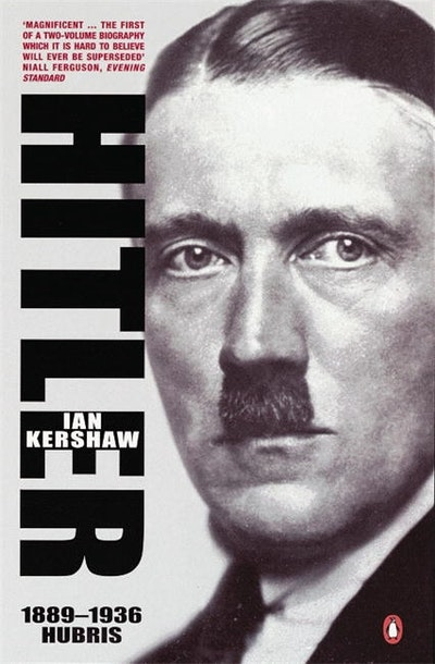 Book Cover:  Hitler 1889-1936: Hubris