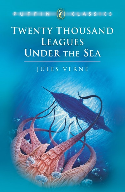 Book Cover:  Twenty Thousand Leagues Under Sea