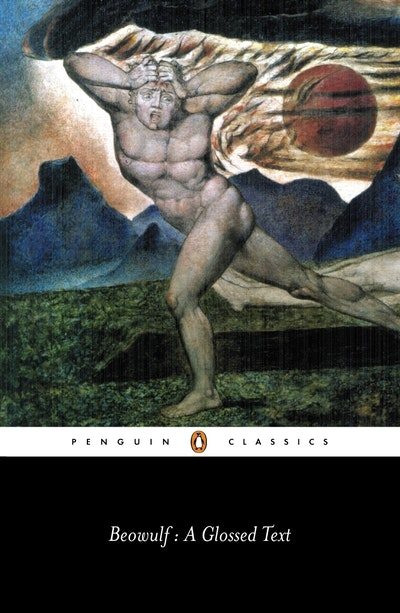 Book Cover:  Beowulf: A Glossed Text