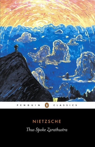 Book Cover:  Thus Spoke Zarathustra