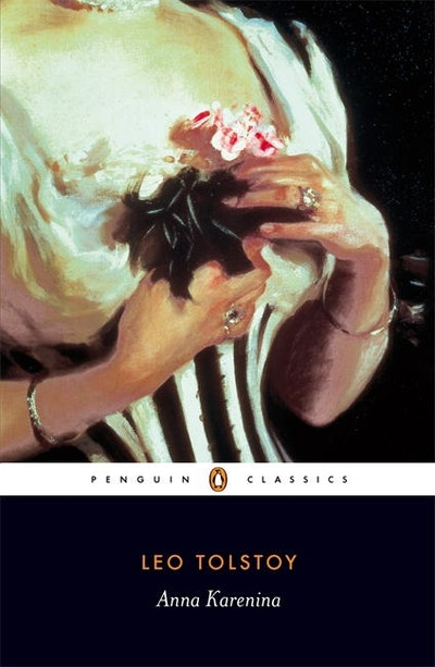 Book Cover:  Anna Karenina