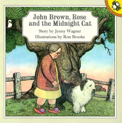 Book Cover:  John Brown, Rose & the Midnight Cat