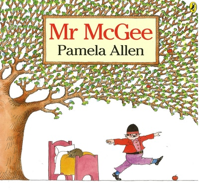 Book Cover:  Mr Mcgee
