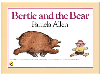 Book Cover:  Bertie & the Bear