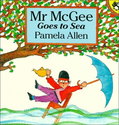 Book Cover:  Mr McGee Goes to Sea