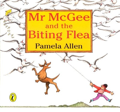 Book Cover:  Mr McGee & the Biting Flea