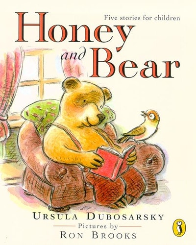 Book Cover:  Honey & Bear