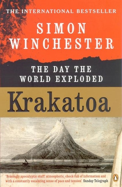 Book Cover:  Krakatoa: The Day the World Exploded