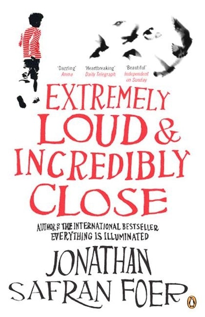 Book Cover:  Extremely Loud & Incredibly Close