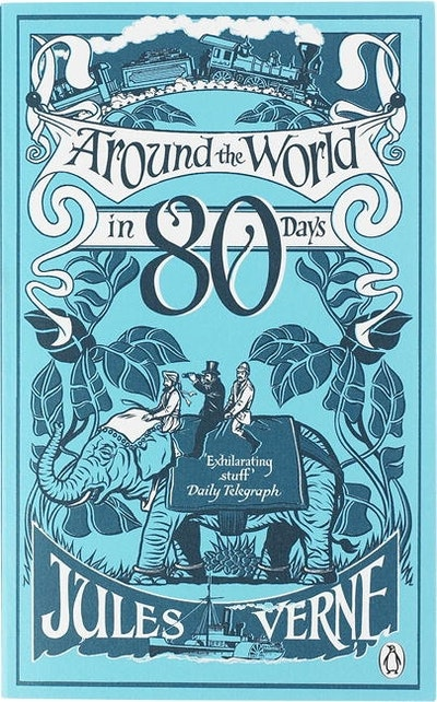 Book Cover:  Around the World in Eighty Days: Pocket Penguin Classics