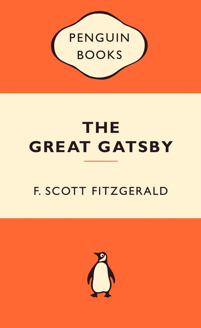 Book Cover: The Great Gatsby: Popular Penguins