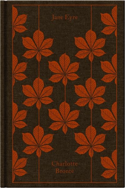 Book Cover:  Jane Eyre: Design by Coralie Bickford-Smith
