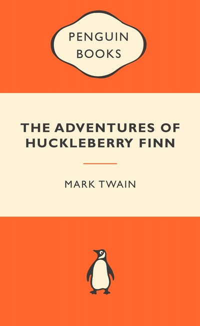 Book Cover: The Adventures of Huckleberry Finn: Popular Penguins