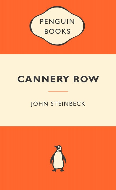 Book Cover:  Cannery Row: Popular Penguins
