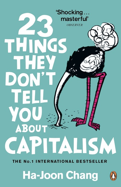 Book Cover:  23 Things They Don't Tell You About Capitalism