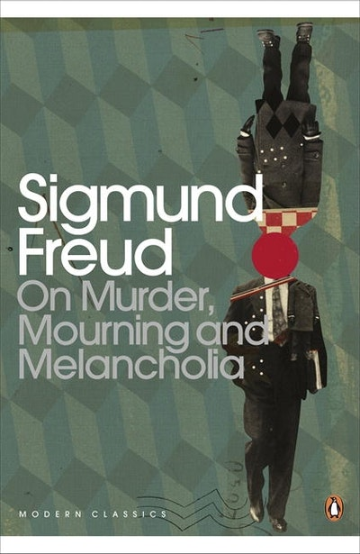 Book Cover:  On Murder, Mourning & Melancholia