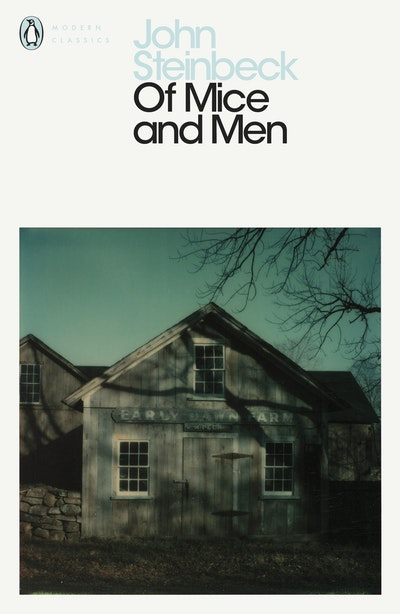 Book Cover:  Of Mice & Men