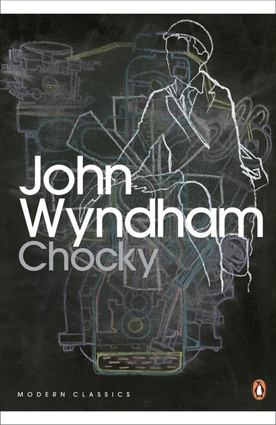 Book Cover:  Chocky