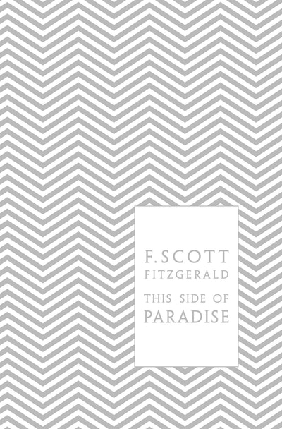 Book Cover:  This Side of Paradise: Design by Coralie Bickford-Smith