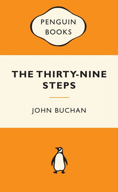 Book Cover: The Thirty-Nine Steps: Popular Penguins