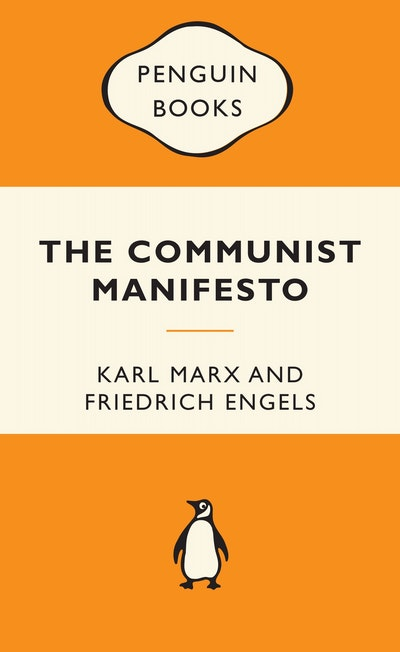 Book Cover: The Communist Manifesto: Popular Penguins
