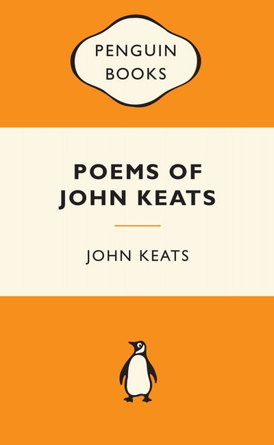 Book Cover:  Poems Of John Keats: Popular Penguins