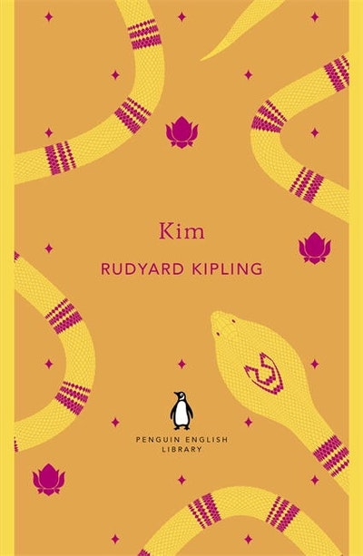 Book Cover:  Kim: Penguin English Library
