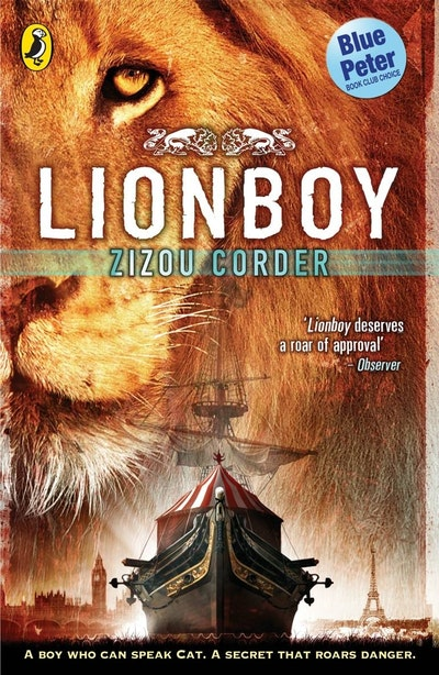 Book Cover:  Lionboy