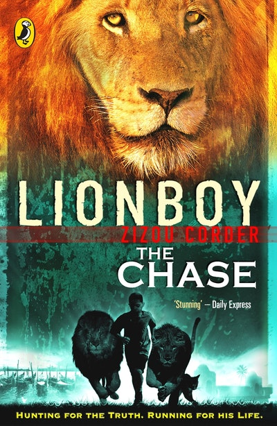 Book Cover:  Lionboy: The Chase