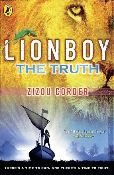 Book Cover:  Lionboy: The Truth