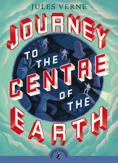 Book Cover:  Journey to the Centre of The Earth