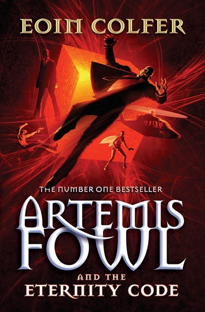 Book Cover:  Artemis Fowl & The Eternity Code