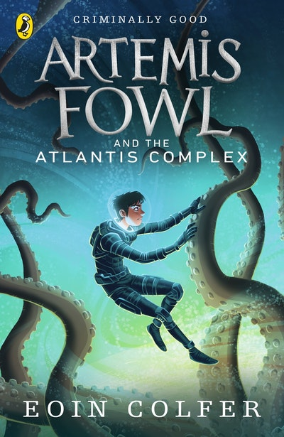 Book Cover:  Artemis Fowl and the Atlantis Complex