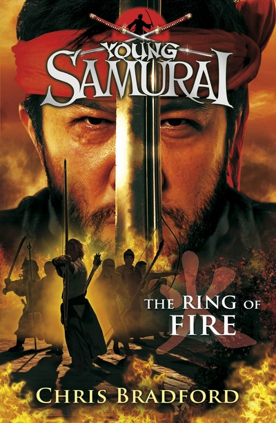 Book Cover: The Ring of Fire: Young Samurai