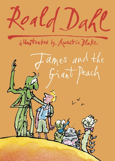 Book Cover:  James & the Giant Peach