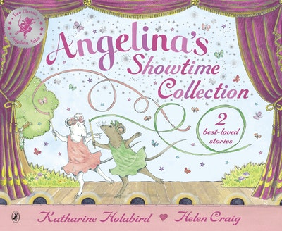 Angelina's Showtime Collection: 2 best-loved stories