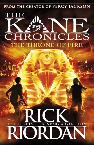 Throne of Fire: Kane Chronicles