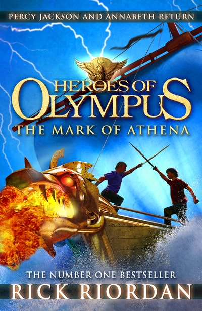 Book Cover: The Mark of Athena: Heroes of Olympus