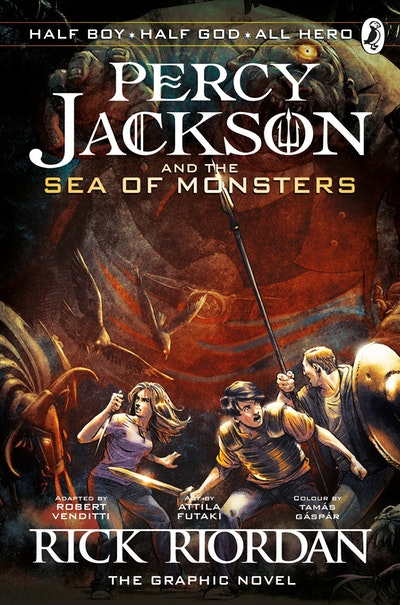 Book Cover:  Percy Jackson and the Sea of Monsters: The Graphic Novel
