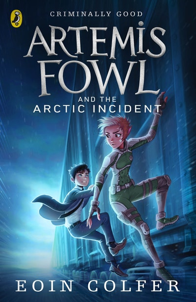Book Cover:  Artemis Fowl And The Arctic Incident