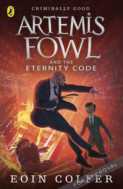 Book Cover:  Artemis Fowl And The Eternity Code