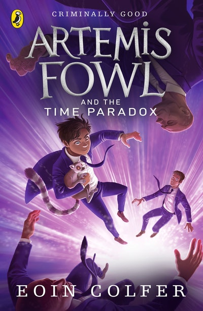 Book Cover:  Artemis Fowl and the Time Paradox